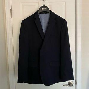 Navy Blue Tailored Fit Blazer